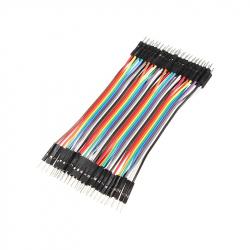 10 cm 40p Male Male Wire