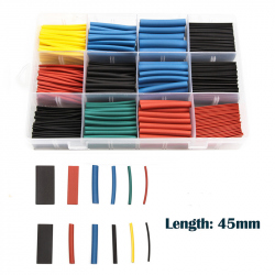 Colored Heatshrink Kit (530 pcs)