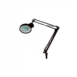 LAMP WITH MAGNIFYING GLASS 5 DIOPTRE - 22W - BLACK