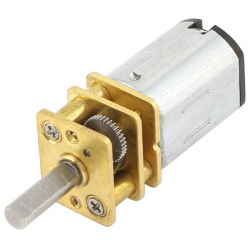 GA12-N20 Micro Gearmotor 12GAN20-50 with 10 mm Long Shaft