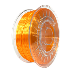 Silk Devil Design Filament - Bright Orange 1 kg, 1.75 mm