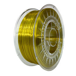 Silk Devil Design Filament - Gold 1 kg, 1.75 mm
