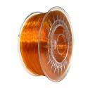 Devil Design PETG Filament - Transparent Bright Orange 1 kg, 1.75 mm