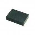 Sponge with sandpaper (25mmx70mmx100mm)