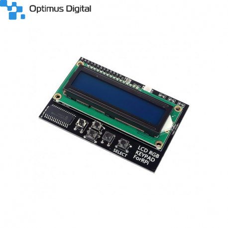 LCD Hat 1602 pentru Raspberry Pi