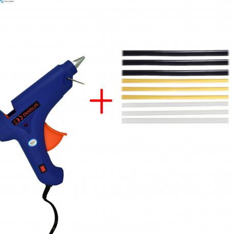 Plusivo 100 W Glue Gun Pack with 9 Glue Sticks