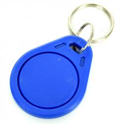 Blue Trinket with RDFI 13.56 MHz Label