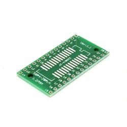 SOP28, SSOP28 and TSSOP28 to DIP PCB Adapter