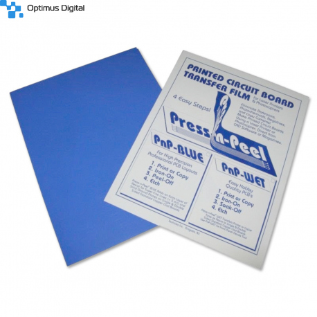 Pressing and Peel Blue Wrapping Sheet