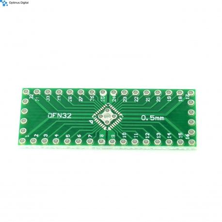 QFN32 and QFN40 to DIP PCB Adapter