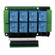 Home Automation 8-Layer Stackable Card for Raspberry Pi