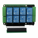 Sequent Microsystems Home Automation 8-Layer Stackable Card for Raspberry Pi