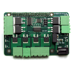 Raspberry Pi MOSFETS 8-Layer Stackable Card for Raspberry Pi