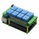 8 Relays 8-Layer Stackable Card for Raspberry Pi