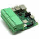 Pluggable Breakout Card Type-3 Accepting 24-14 AWG wires for Raspberry Pi