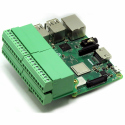 Sequent Microsystems Pluggable Breakout Card Type-3 Accepting 24-14 AWG wires for Raspberry Pi