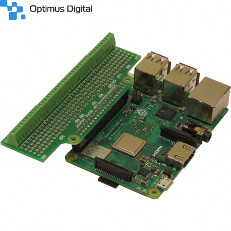 Screw Mount Breakout Card Type-1 Accepting 26-18 AWG wires all Raspberry Pi