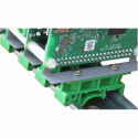 Sequent Microsystems DIN-RAIL Kit Type 2 Perpendicular Mount for all Raspberry Pi's