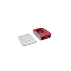 Carcasă pentru Raspberry Pi Alb cu Roșu