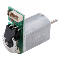 Mini Motor with Speed Encoder (Motor: 6 - 12 V, Encoder: 2 - 3.3 V)