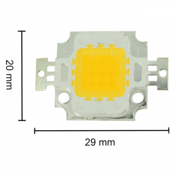 10 W LED with Color Temperature of 3000-3500 K