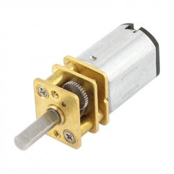 GA12-N20 Micro Gearmotor 12GAN20-10 with 10 mm Long Shaft