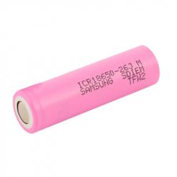 Li-Ion 2600 mAh 18650 ICR18650-26JM Samsung Battery