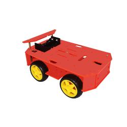 4 Motors Robot Kit (Red)