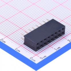 2x8p Female Pin Header 2.54 mm