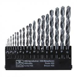 Metal Drill Hss 19 Pcs