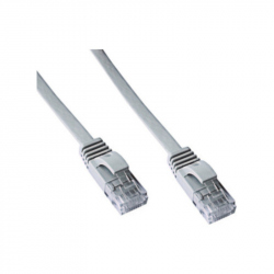 10 meters Flat CAT6 UTP Patch Cable Gray