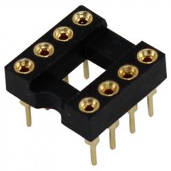 8 Pin Gold Socket