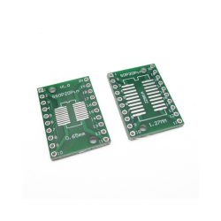 SOP20, SSOP20 and TSSOP20 to DIP PCB Adapter