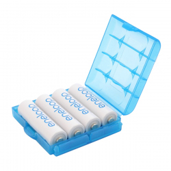 R6/AA R03/AAA Blue Battery Case