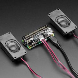 Adafruit I2S 3W Stereo Speaker Bonnet for Raspberry Pi (Mini Kit)
