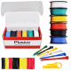 Plusivo PVC Insulated Wire Kit (20AWG, 6 colors, 7m each)