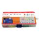 Plusivo LED Assortment Kit (500 pcs) with Bonus PCB and 220Ω Resistors