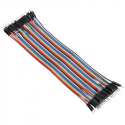 20 cm 40p Male Male Wire