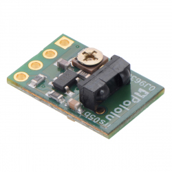 Pololu 38 kHz IR Proximity Sensor, Fixed Gain, High Brightness (irs05a)