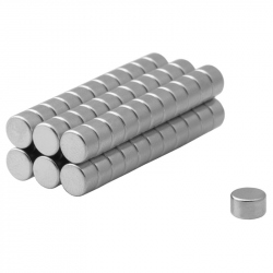 Neodymium disc magnet 4x3 thick N38