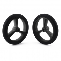 Wheel 40×7mm Pair - Black
