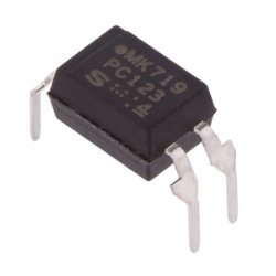 PC123 - Optocoupler 5 kV, 70 V, 18 us