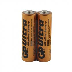 Set of 2 Ultra Alkaline GP LR6 / AA Batteries