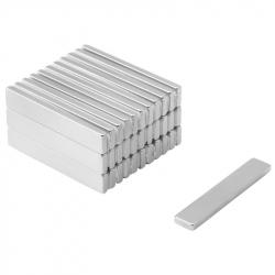 Neodymium Block Magnet 40x7x2,4 Thick N38SH
