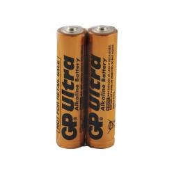 Set of 2 Ultra Alkaline GP LR03 / AAA Batteries
