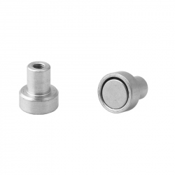 Pot Magnet 10x4.5 mm with Internal Thread M3