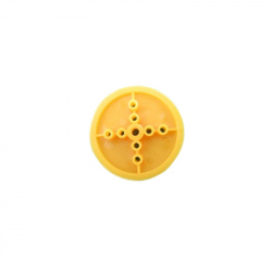 36 mm Yellow Pulley Wheel