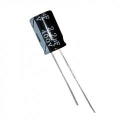 Electrolytic Capacitor 2.2 uF, 400 V