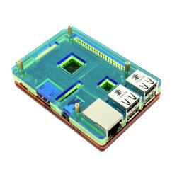 Raspberry Pi Coupe Case - Rainbow