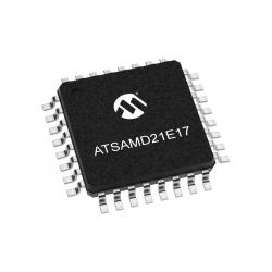 ATSAMD21E17A-AU